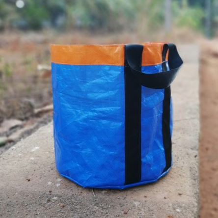 HDPE grow bag 9×9