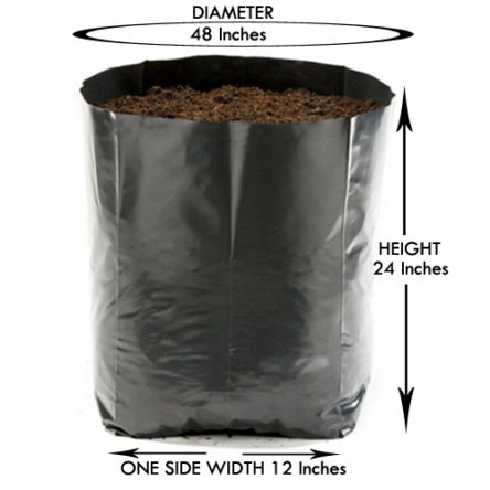 Grow Bag 24 X 24 Inches Large Size