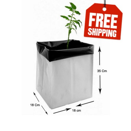 Grow Bag 35x20x20 cms- Pack of 30 Bags Free Shipping
