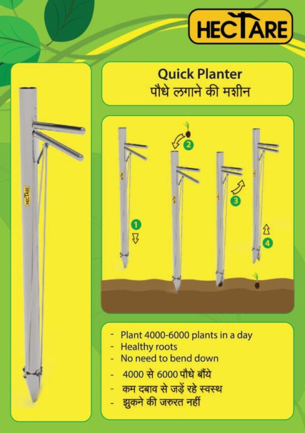 Vegetable Plant Transplanter