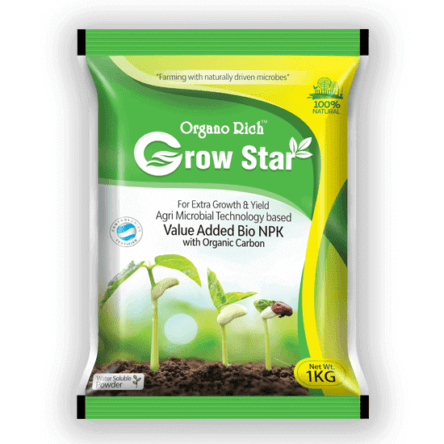 Grow Star -Bio NPK with Organic Carbon